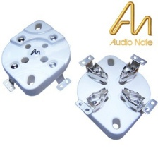 AN 4 pin valve base - SILVER, CHASSIS MOUNT