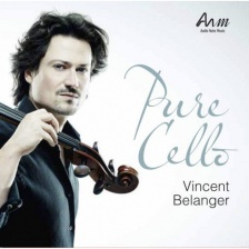Audio CD. PURE CELLO - Vincent Belanger