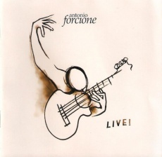 Audio CD. Antonio Forcione. Live!