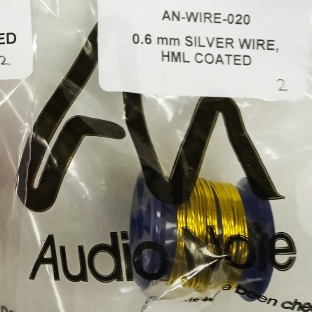 Audio Note AN 0.6 mm SILVER WIRE, HML COATED фото 1